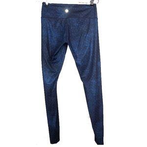 LULULEMON | Blue Print Legging Pants size 6